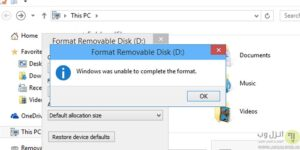 windows-was-unable-to-complete-the-format